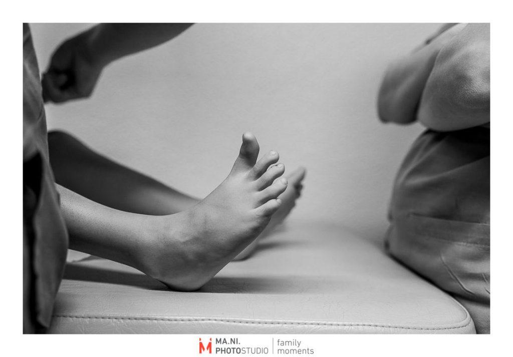 Dettaglio piedi