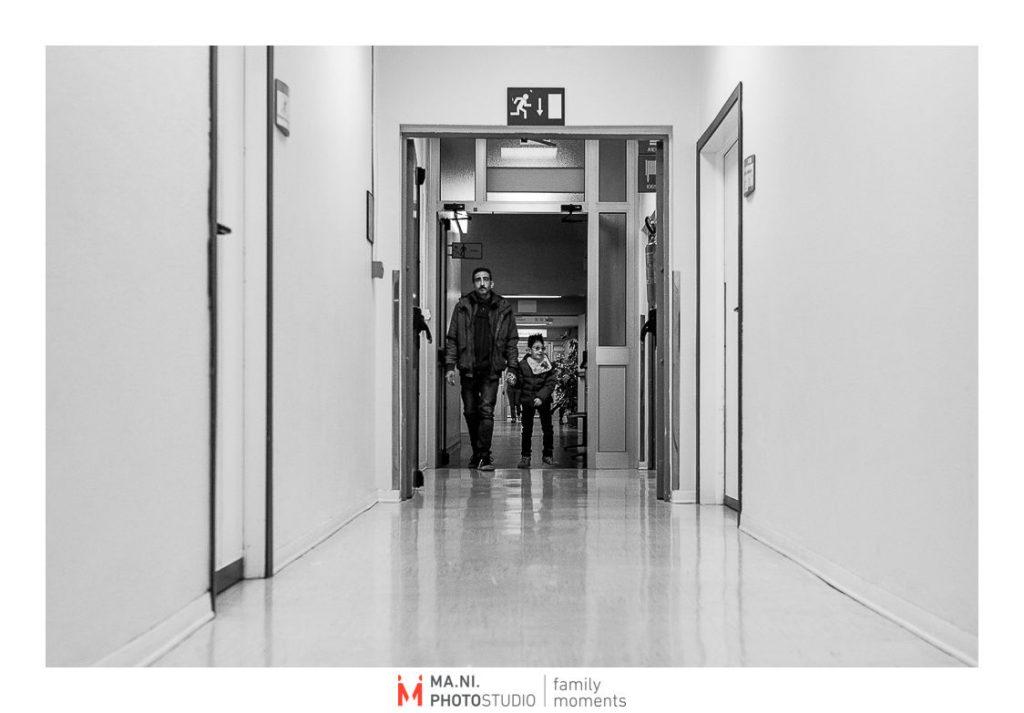 In ospedale per visite