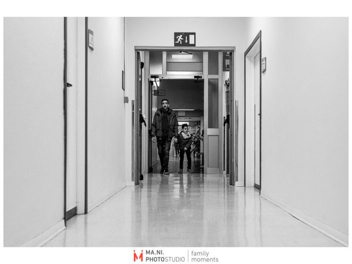 Progetto di fotografia documentaria: I Rari. Visite in ospedale a Reggio Emilia.
