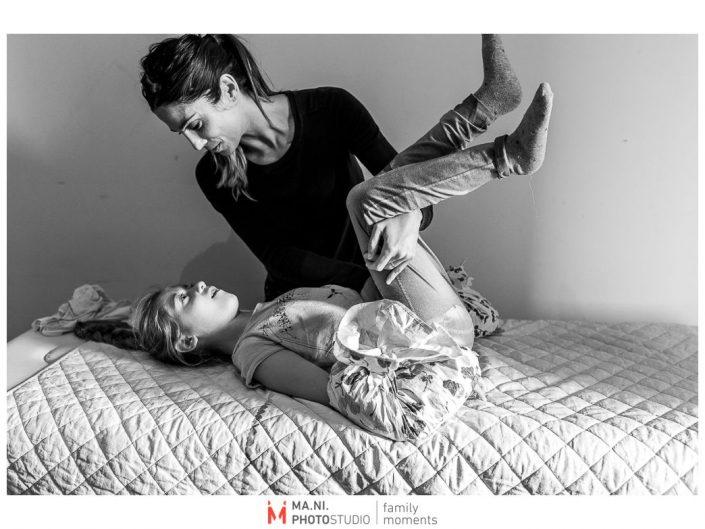 Progetto di fotografia documentaria: I Rari. Terapia posturale.