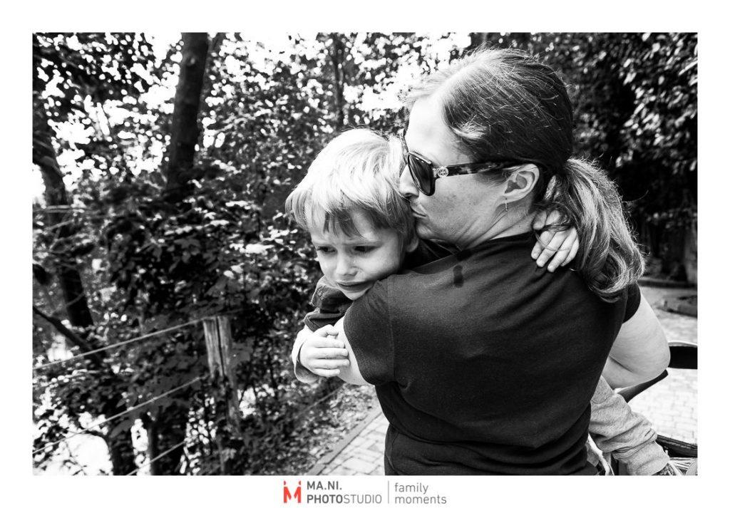 I baci della madre sono il miglior cerotto
