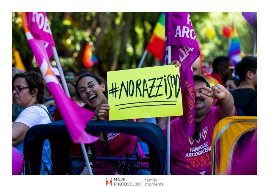 No razzismo al Modena gay pride