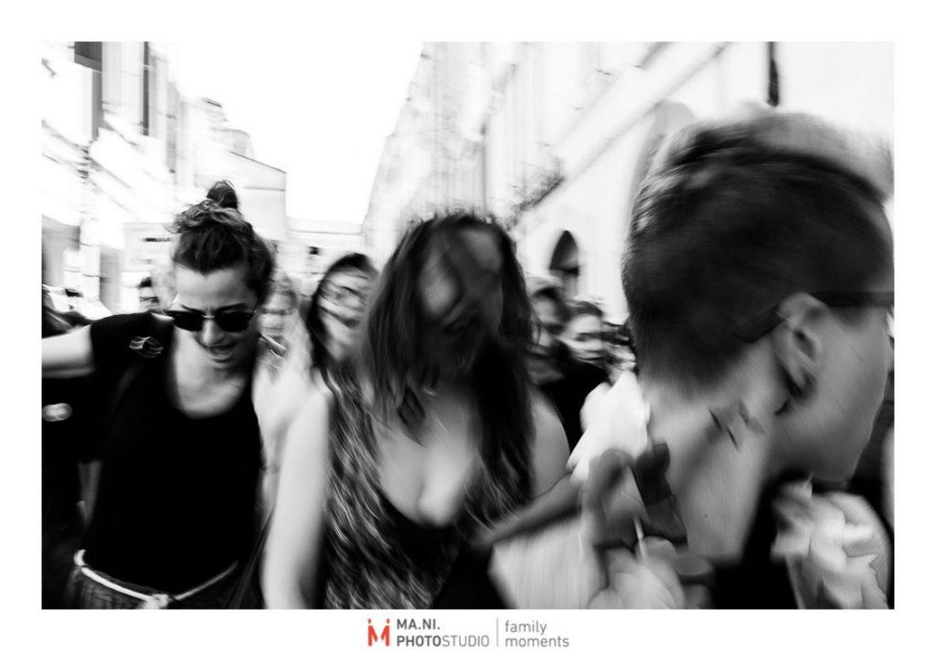 il caos della parata