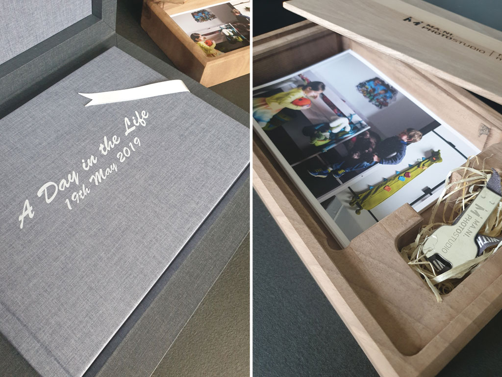 Ma.Ni. Photo Studio album di famiglia e memory box il regalo perfetto per i tuoi figli