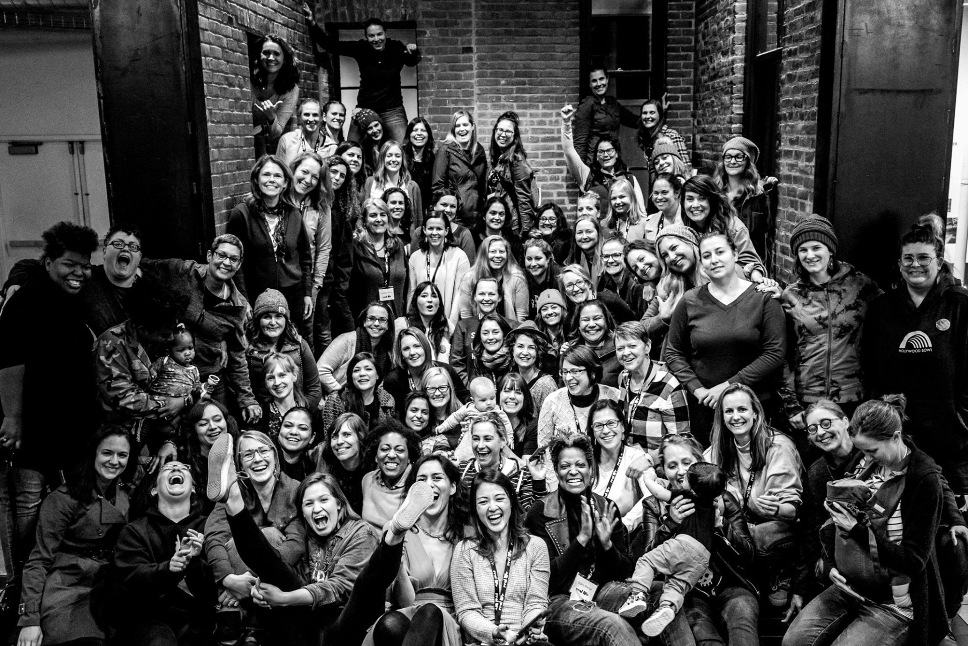 Foto di gruppo dalla Real Life Conference 2019, Portland Oregon