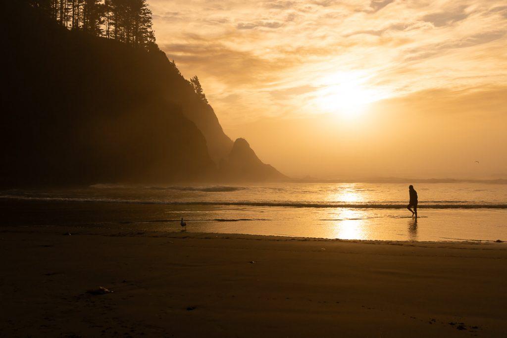 Uno dei tantissimi tramonti sulla costa ovest degli Stati Uniti