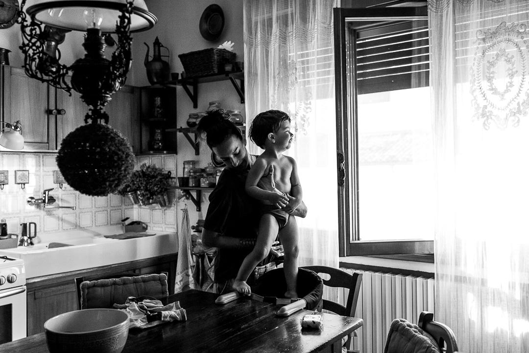 Fotografia di famiglia artistica a Bologna