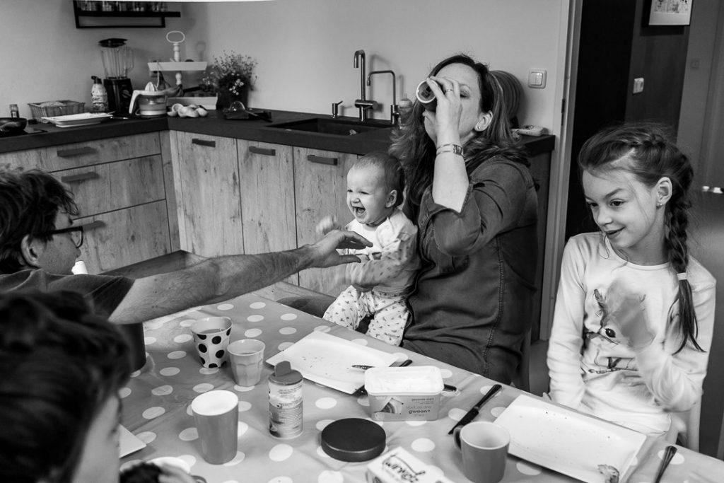 Colazione per una famiglia di 5 persone