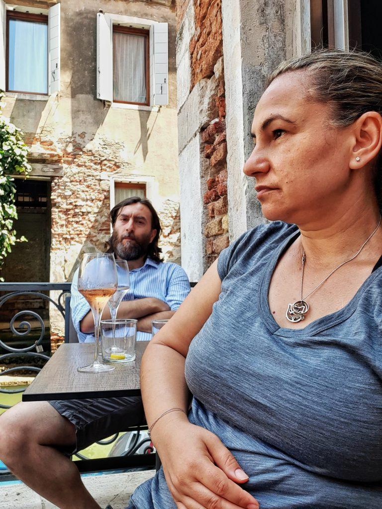 Lavinia e Filippo a Venezia